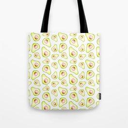 Avocado Slices Tote Bag