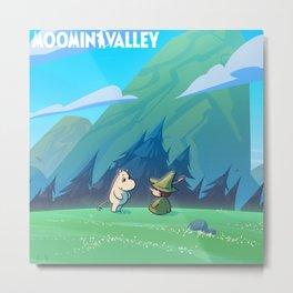 moominvalley Metal Print