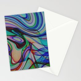 Abstract Composition 501 Stationery Cards