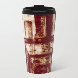 Mr. Incredible Sketches an Alley Travel Mug