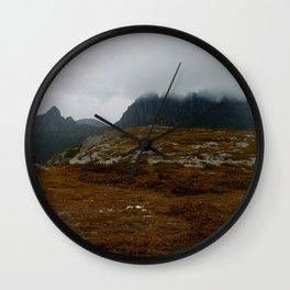 Cradle Under Fog Wall Clock