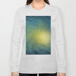 Faceted Atmospheric Spiral Long Sleeve T-shirt