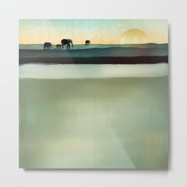 Gentle Journey Metal Print