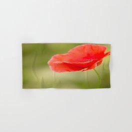 Miss you so much Red Poppy #decor #society6 Hand & Bath Towel