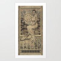Mercy Lotus  Art Print