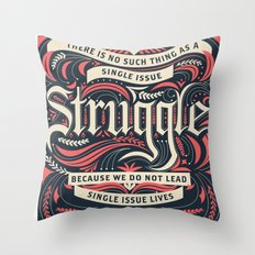 Intersectional Feminism Throw Pillow