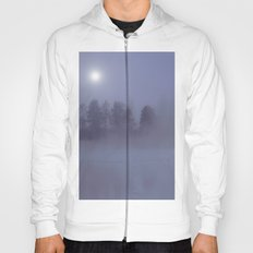 Silent Night in Foggy Atmosphere Hoody