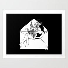 Dear Heartbreaker Art Print