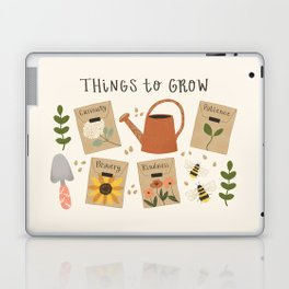 Things to Grow - Garden Seeds Laptop & iPad Skin