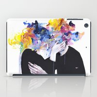 frame iPad Cases featuring intimacy on display by agnes-cecile