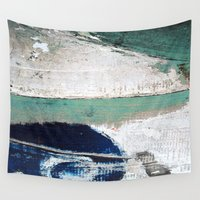 surf Wall Tapestries featuring Surf by Bella Blue Photography