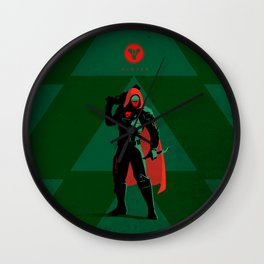 028 Hunter D2 Wall Clock