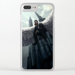 Throne Clear iPhone Case