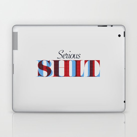 Serious Bullshit. Laptop & iPad Skin