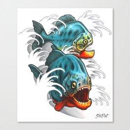 Carnivores! Canvas Print