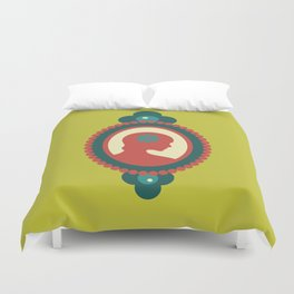 That Pretty Lady Duvet Cover