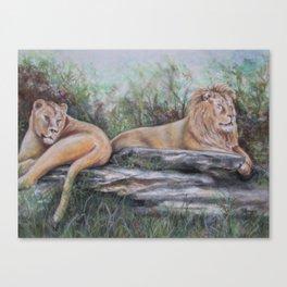 Zuri and Avus Canvas Print