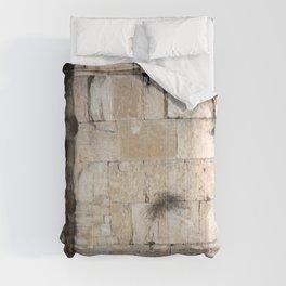 Jerusalem - The Western Wall - Kotel #3 Comforters