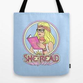 She-Read Tote Bag