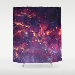 Star Field in Deep Space Shower Curtain