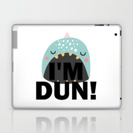 I'm DUN Monster Whale Laptop & iPad Skin