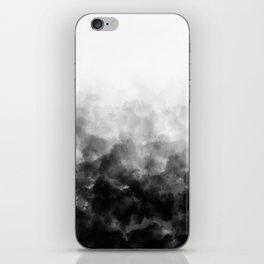 Ombre Smoke Clouds Minimal iPhone Skin
