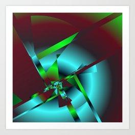 geometric pattern -6- Kunstdrucke