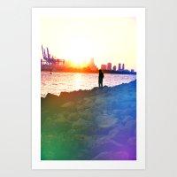 Our Rainbow Art Print