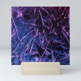 Broken Violet Mini Art Print