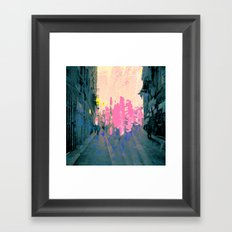 Sober anticipation never tackles pay absent units. Framed Art Print