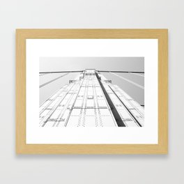 Sky Walking Framed Art Print