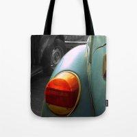 volkswagen Tote Bags featuring Volkswagen by habish