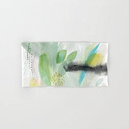 Summer Air Abstract Hand & Bath Towel