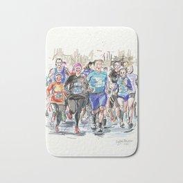 Runners Jogging Bath Mat