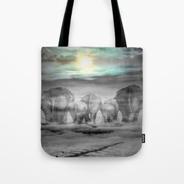 Elephants Graveyard Tote Bag