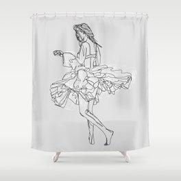 Sweet Freedom Shower Curtain