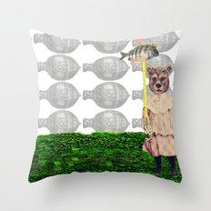 Les histoires d'enfance Throw Pillow