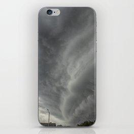 Cloud Wall Turning iPhone Skin