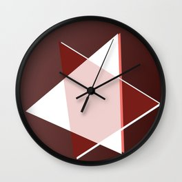 Oh whity brown ... Wall Clock