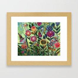 Garden Santuary Framed Art Print