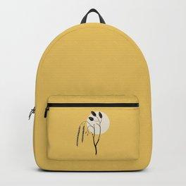 WABI-SABI Warm Colors Simple Illustration  Backpack