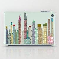 san diego iPad Cases featuring San Diego skyline  by bri.buckley