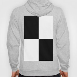 Big Mosaik black and white Hoody