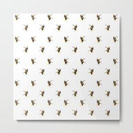 Bumblebee pattern Metal Print