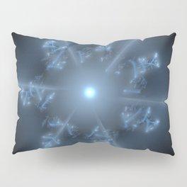 Fractal 29 blue star Pillow Sham