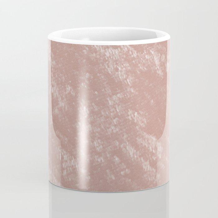 Soft rose gold velvet Coffee Mug
