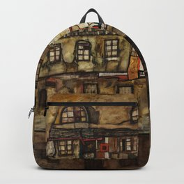 "Egon Schiele ""House Wall on the River"" Backpack"