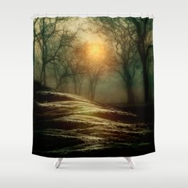 From small beginnings and big endings. by Viviana González Shower Curtain