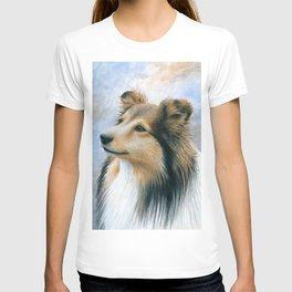 Sheltie Collie Dog T-shirt