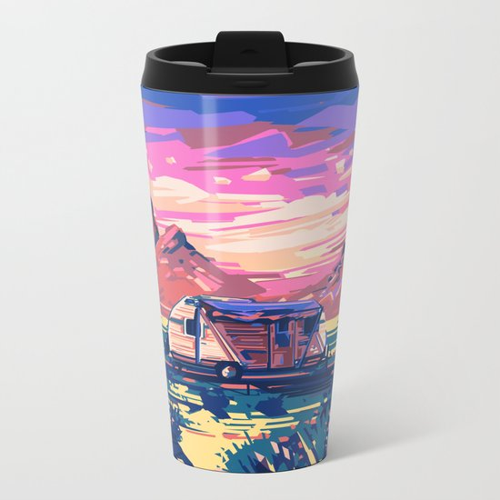 american landscape 5 Metal Travel Mug